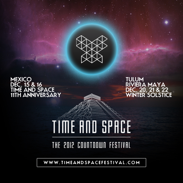 Time and Space – The 2012 Countdown Festival – México