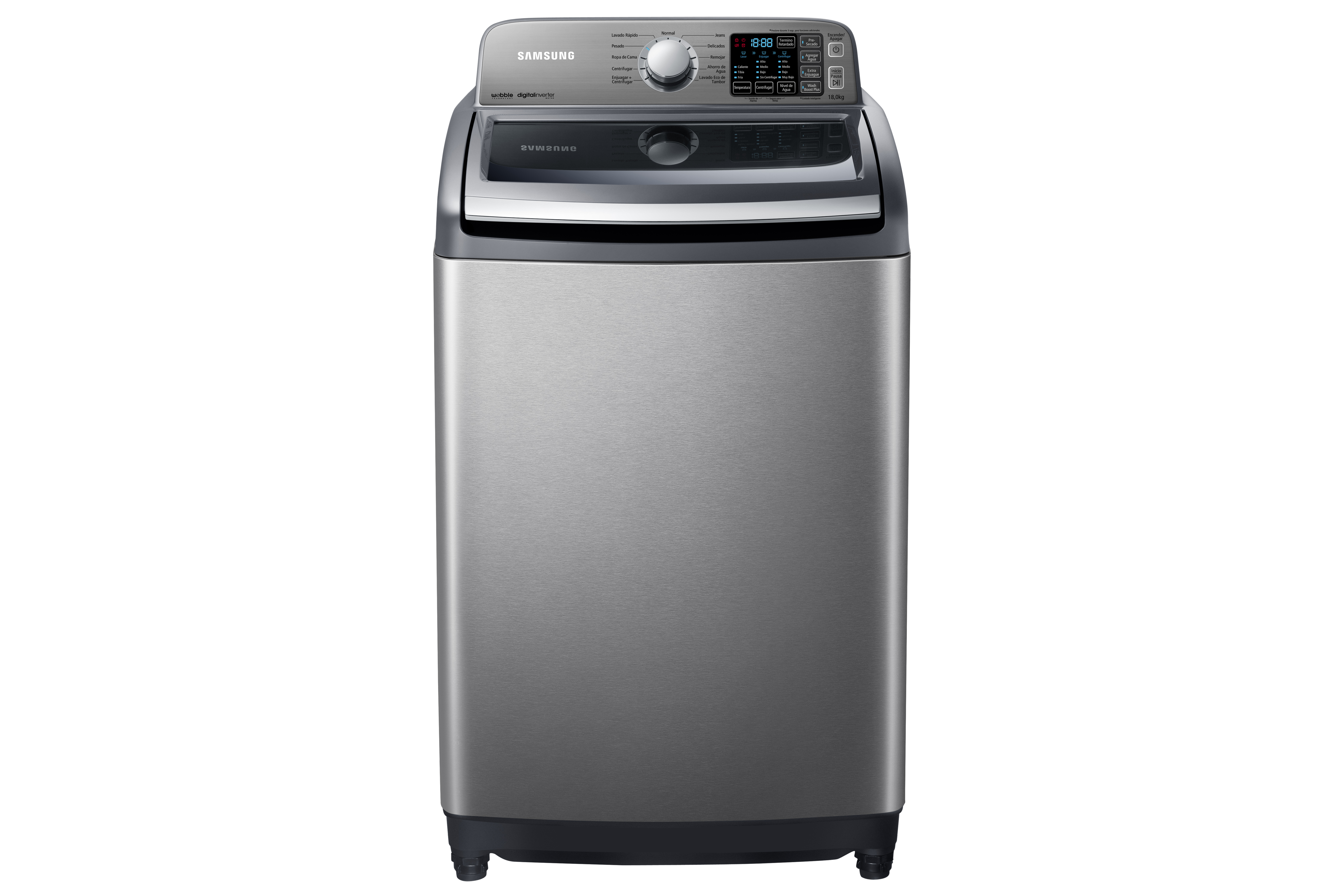 Samsung presenta la nueva l nea de lavadoras wobble - Lavadora sin agua ...