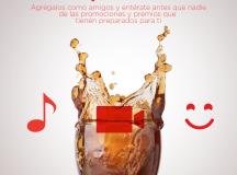 LINE destapa la felicidad con Coca-Cola