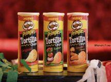 Pringles Tortilla Chips ideales para festejar el mes patrio