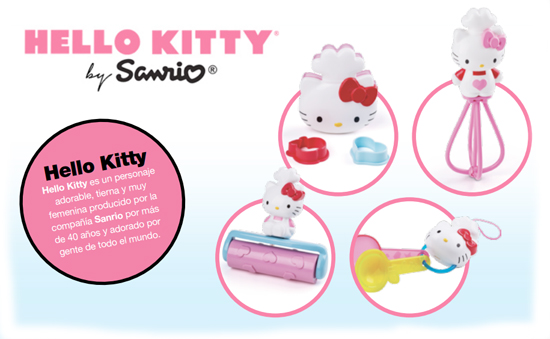 Hello kitty y ben 10 omniverse se meten en la cajita feliz for Utensilios de cocina hello kitty