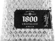 Tequila 1800 Cristalino, carácter de pureza en un Añejo Cristalino