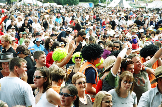 Wildfoods Festival The Crowd GoesWild