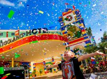 WINTER HAVEN, FL - May 15, 2015 -- LEGOLAND Hotel at LEGOLAND Florida Resort celebrates the grand opening of the new 152-room hotel built for kids.  (PHOTO / Chip Litherland for LEGOLAND Florida/Merlin Entertainments Group Inc.)