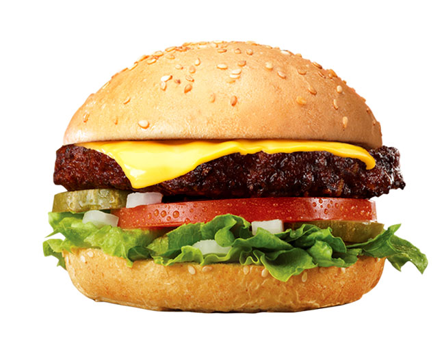 Veggie Burger con queso