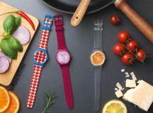 Swatch termina el Verano con estilos inspirados en el mundo gastronómico