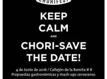 Regresa el Chorifest de La Romita – Sábado 4 de Junio #DondeComer
