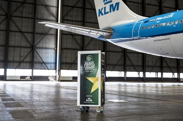 World first_KLM and Heineken introduce draught beer trolley on board_2