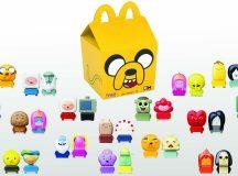 Los personajes de Hora de Aventura de Cartoon Network estarán en la Cajita Feliz de McDonald's