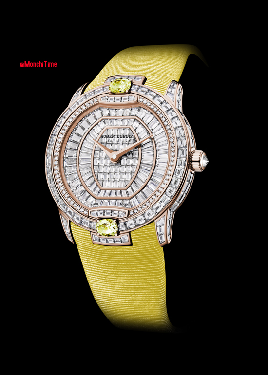 Velvet Haute Joaillerie in pink gold with yellow sapphires 2