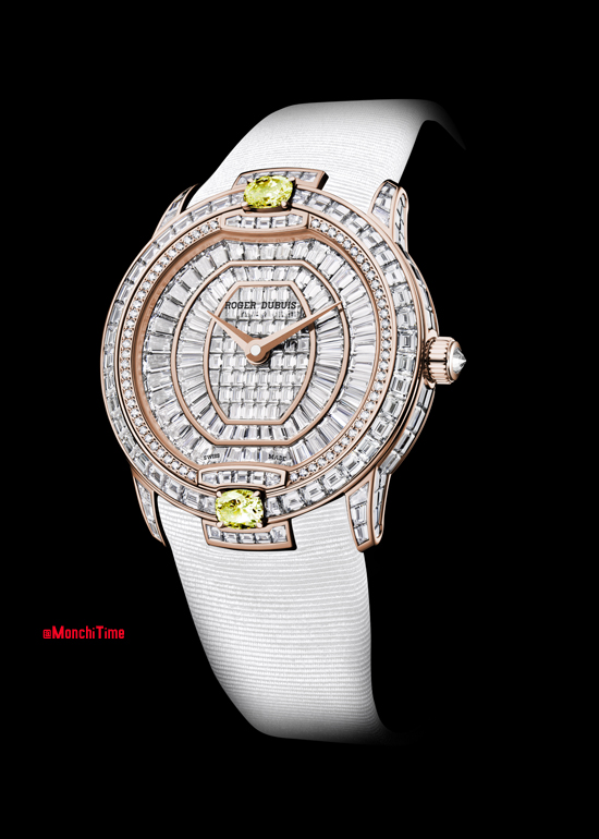 Velvet Haute Joaillerie in pink gold with yellow sapphires