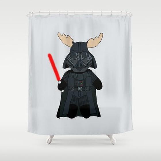 Elk-Vader-Shower-Curtain