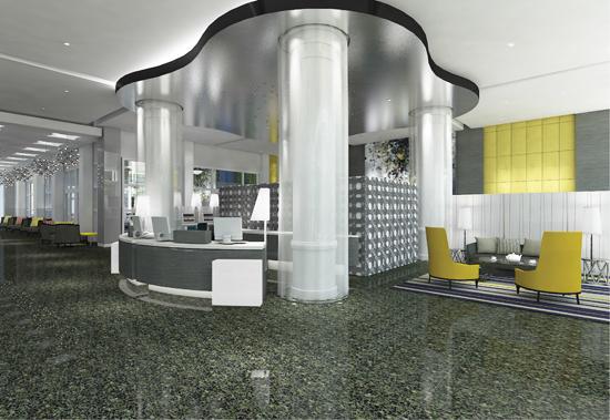 Hilton Cabana Miami Beach - Lobby