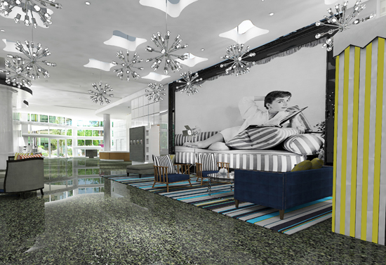 Hilton Cabana Miami Beach - Salon