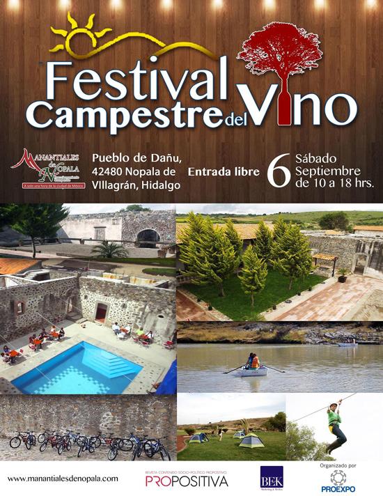 FESTIVAL CAMPESTRE DEL VINO- FLYER 1-