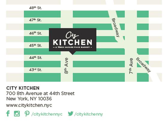 map city kitchen