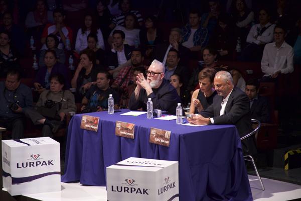 Jueces Héctor Mijangos, Aurelia Lemaire y Eddy Warman 01