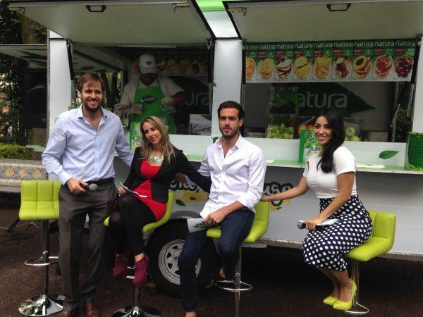 Lanzamiento Natura Juice Truck