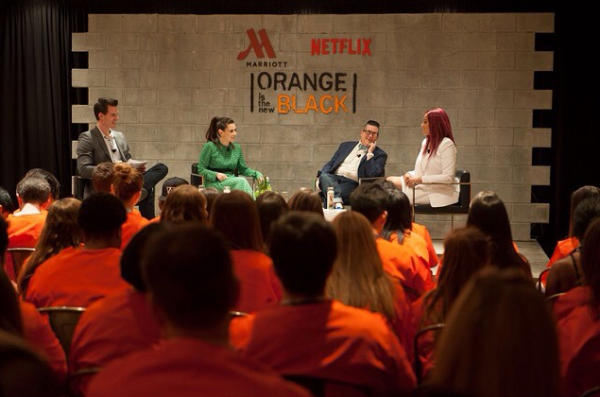 Marriott Hotels and Netflix Event_6.10.15