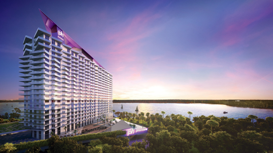 1 ph Premiere Exterior Rendering Twilight
