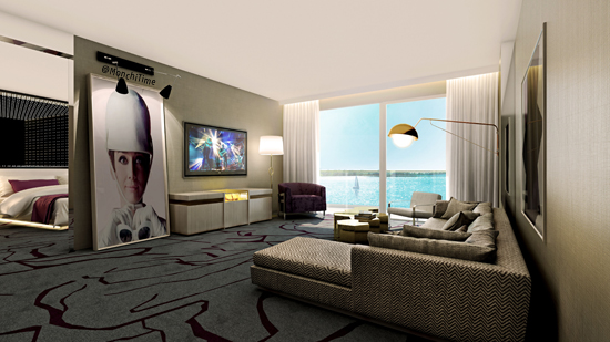 4 ph Premiere Living Room Rendering