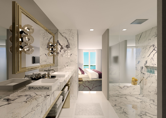 6 ph Premiere Bathroom Rendering