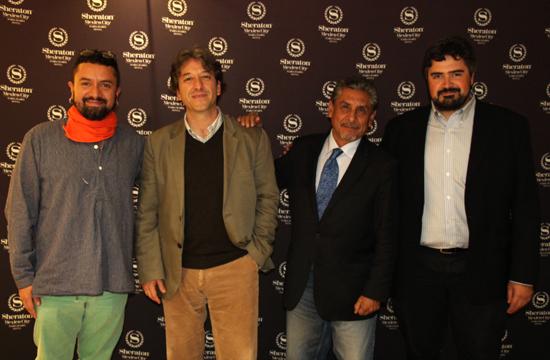 Tareke Ortiz, José Aréan, Roberto Mejía, Jose Julio Infante