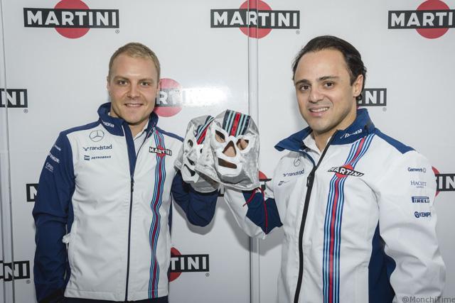 Veltti Bottas y Felipe Maza--