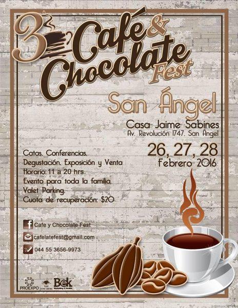 3ER CAFE Y CHOCOLATE FEST- FLYER-