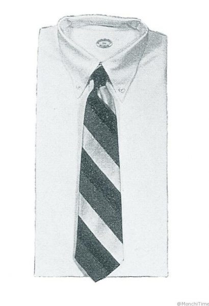 Brooks Brothers Original Polo Button Down Oxford Shirt (archival illustration circa 1900)