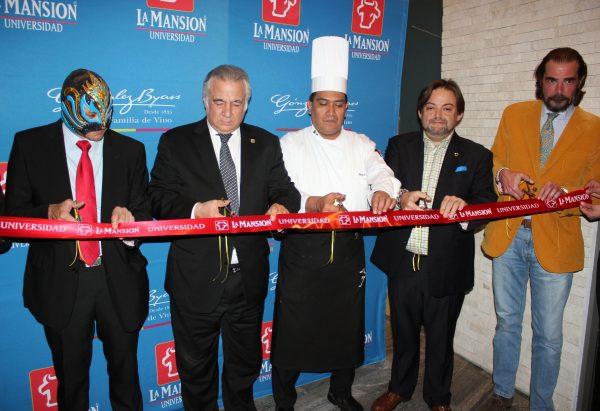 Luchador Olimpico, Miguel Torruco Marqués, Chef Arreola, Mario Llana y José Luis Ley