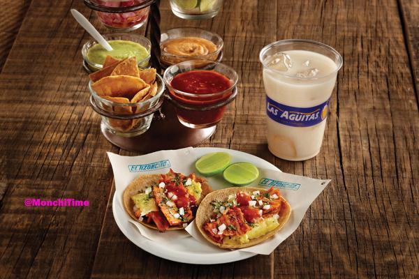 Tacos al Pastor con salsa 2