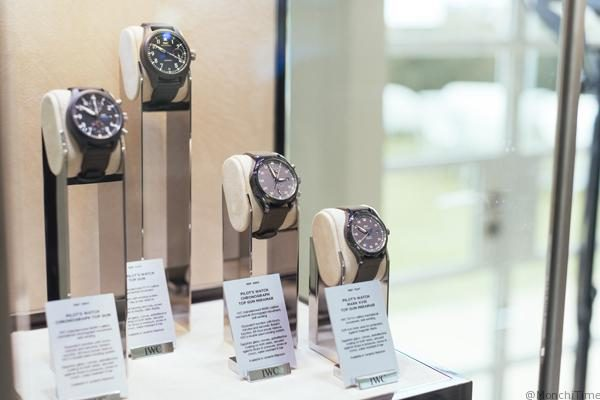 """HANDOUT - During the Goodwood Members' Meeting, IWC Schaffhausen unveiled its new Ingenieur GST Chronograph Edition """"74th Goodwood Members' Meeting"""" as well as the Ingenieur GST Chronograph Edition """"Tribute to R. Caracciola"""" and """"Legendary W125"""". The Swiss luxury watch manufacturer is Timing Partner of the exclusive historic car racing weekend in West Sussex, England. (PHOTOPRESS/IWC/Jack Terry)"""