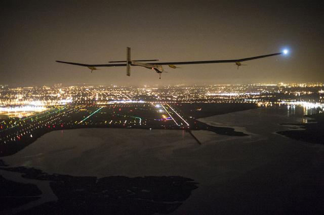Solar Impulse Final Leg Flight WashingtonDC NewYork