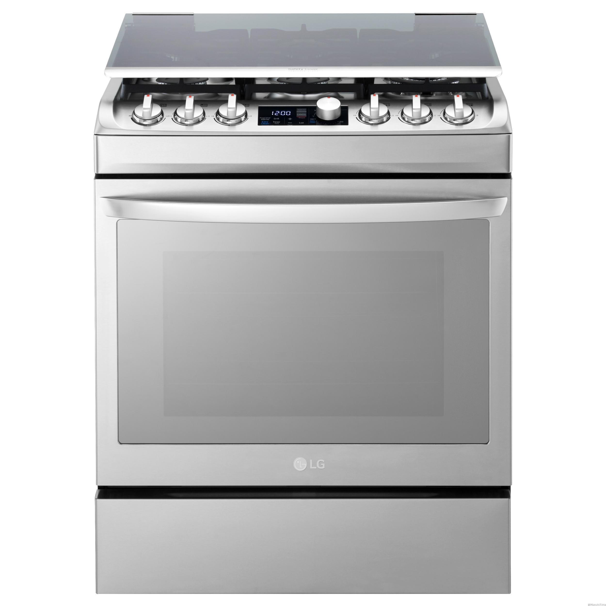 1. New Gas Oven_front