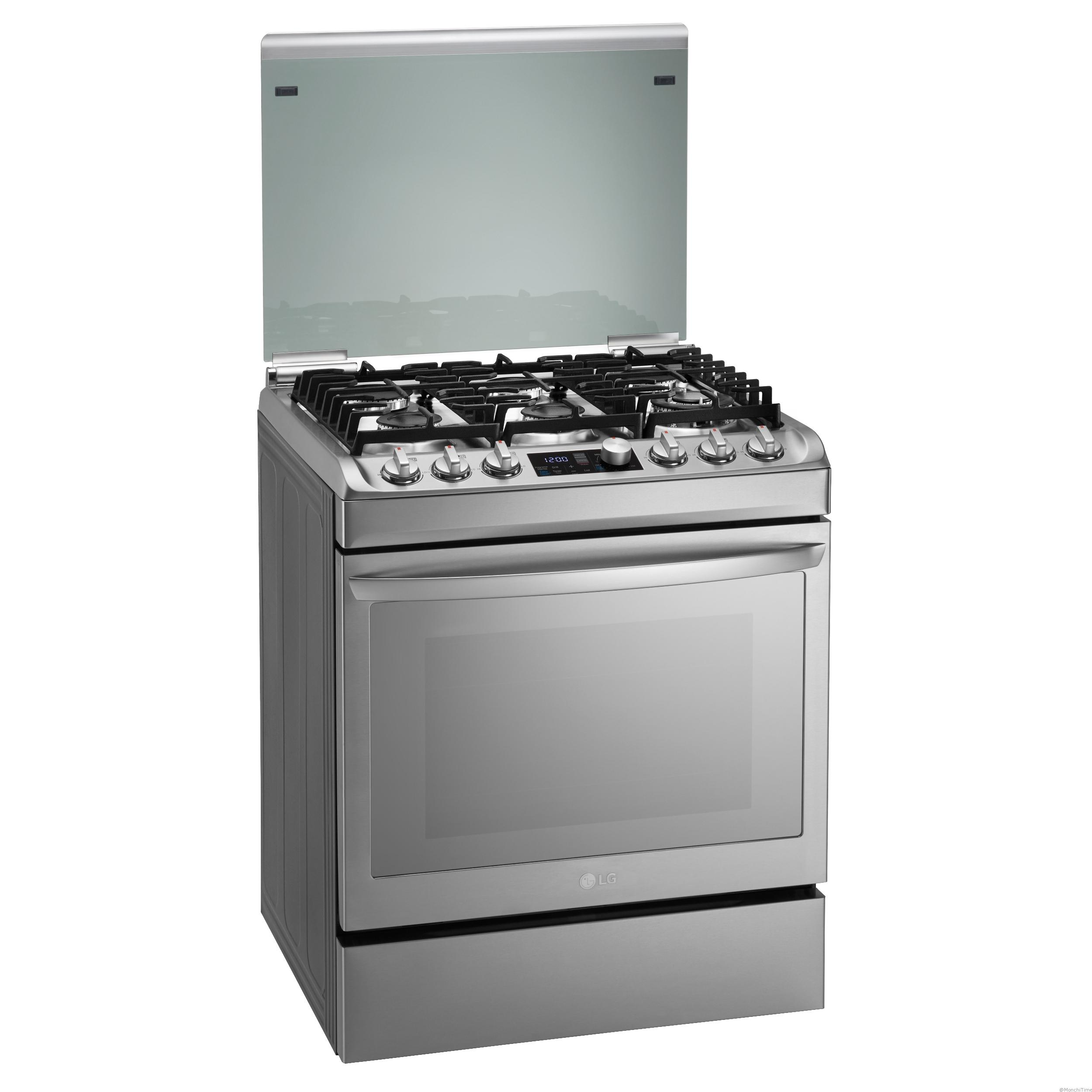 3. New Gas Oven_left side