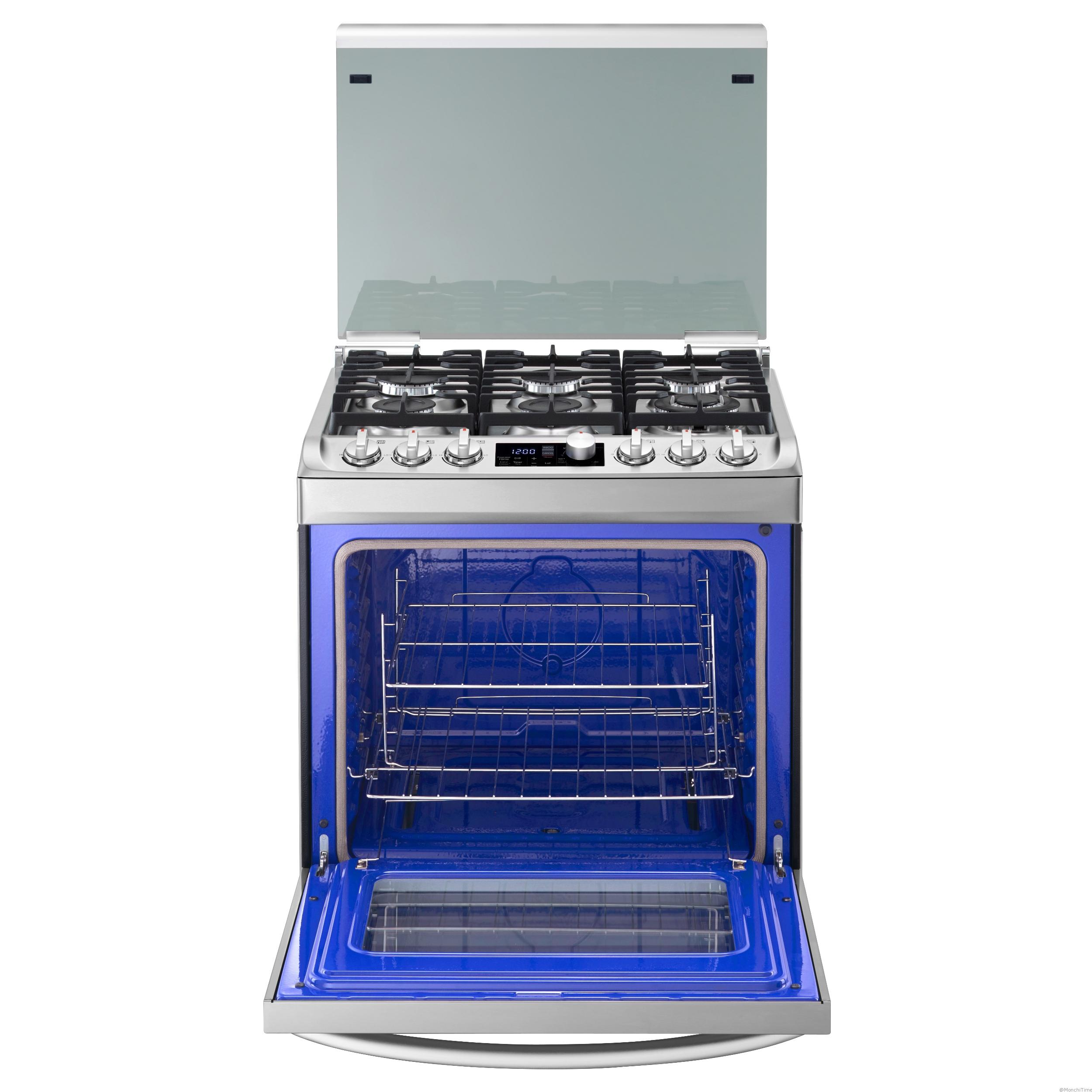 6. New Gas Oven_Front Open
