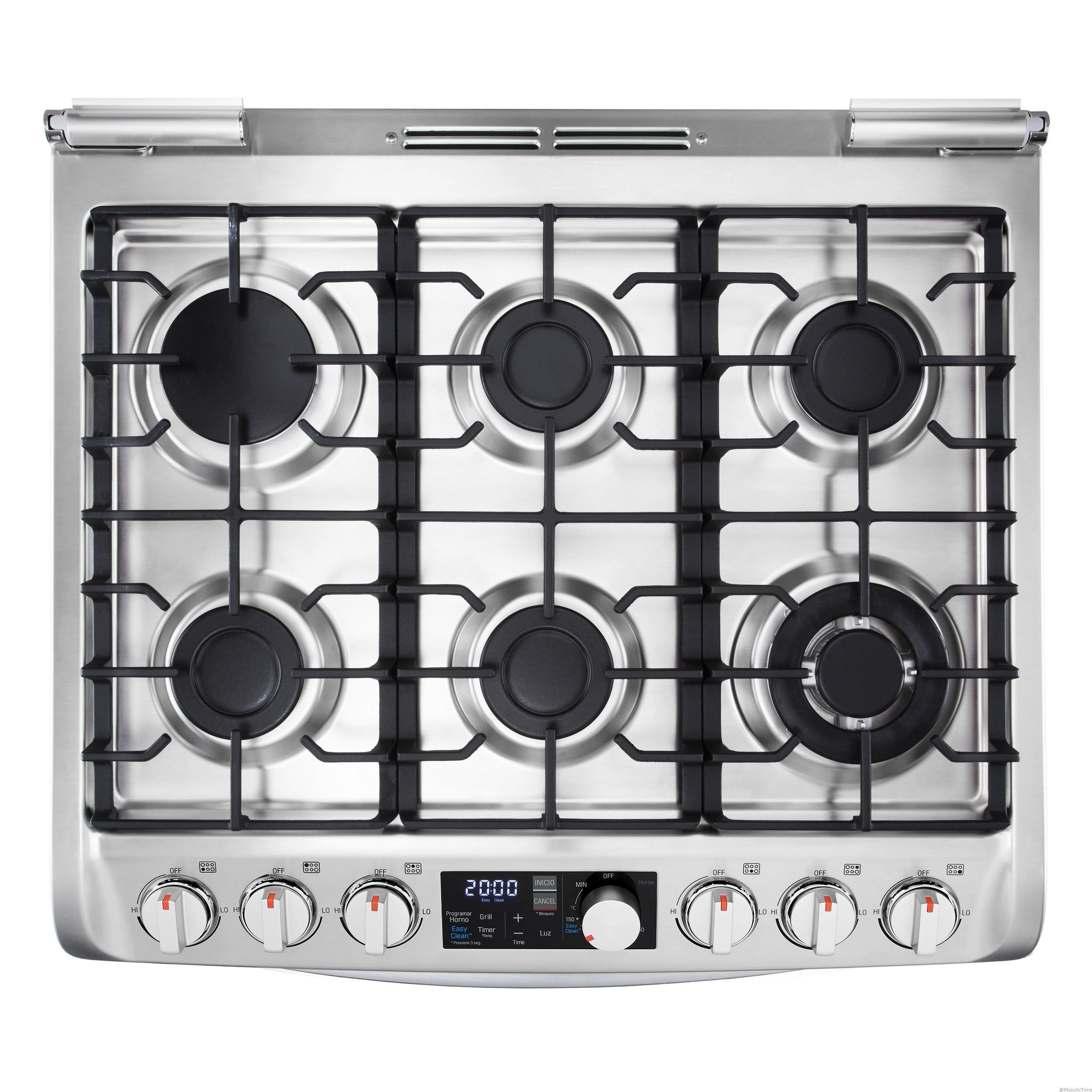 7. New Gas Oven_CHROME_TOP