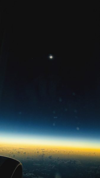 Eclipse Total desde avión