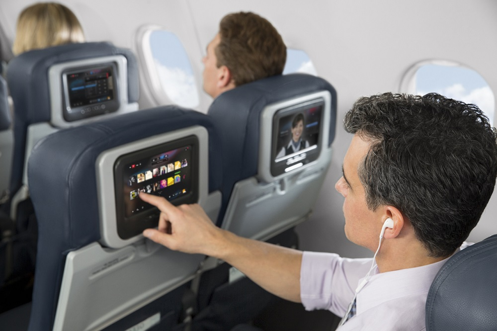 Avión, Entretenimiento, Asiento Cabina